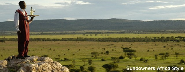 Sundowners-Africa-Style